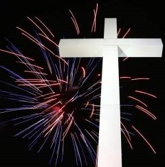 4th Fourth July Independence Freedom Fireworks Christ Christian